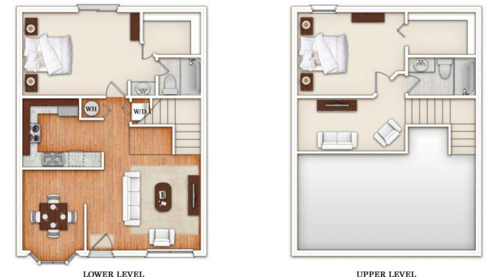 King's Crest Townhomes floorplan 2