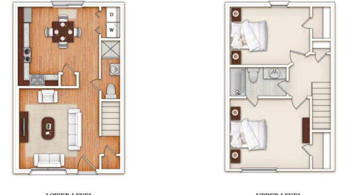 King's Crest Townhomes floorplan 4